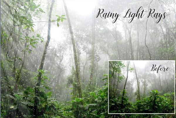 Realistic Rain Light Overlays