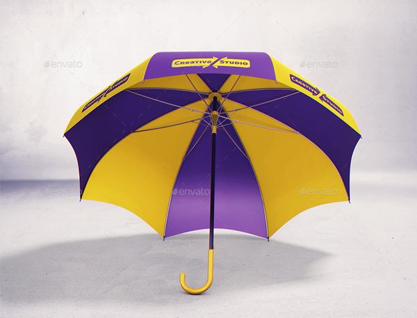 Realistic Umbrella MockUps