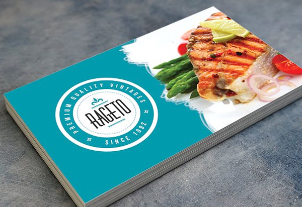 Retro Fast Food Business Card