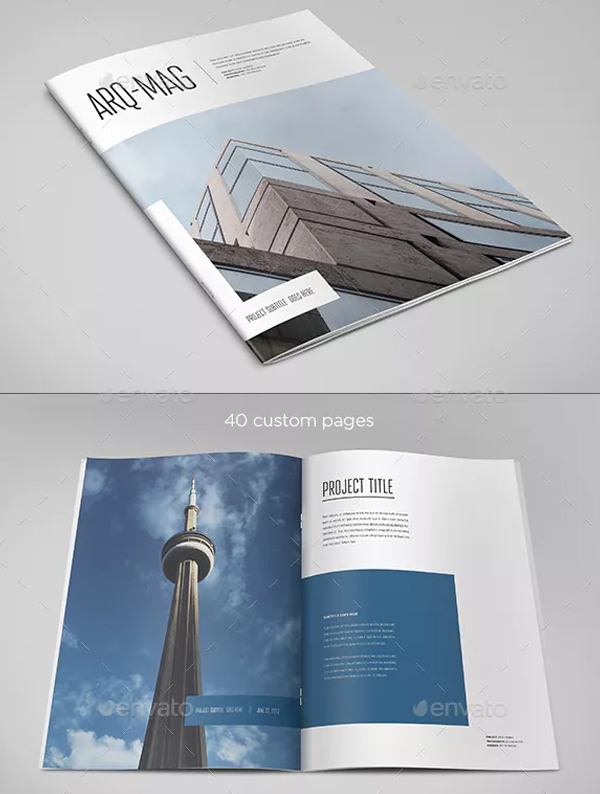 Simple Minimal Architecture Magazine