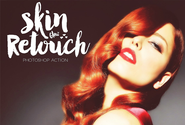 Skin Glow Retouch Action