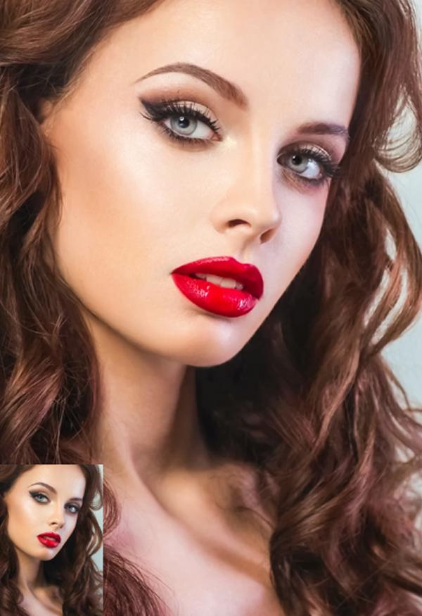 Skin Retouch Photoshop Action Bundle
