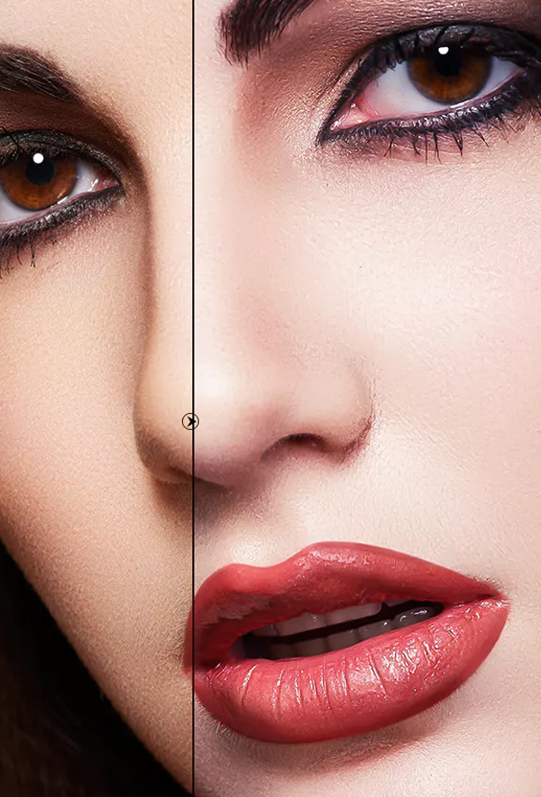 Skin Retouch Photoshop Clean Action