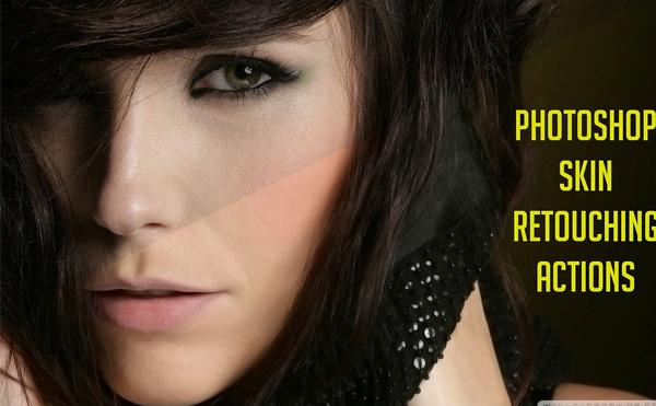 Skin Retouching Effect Photoshop Actions