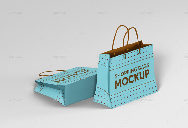 Small Shopping Bags Mockups