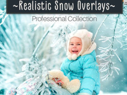 Snow Photoshop Overlays