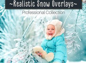 Snow Photoshop Overlays