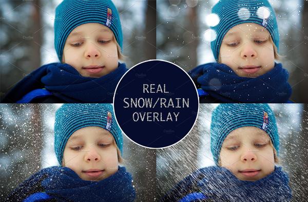 Rain and Snow Overlays