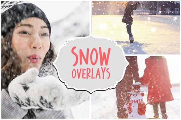 Snowflakes Winter Snow Overlays