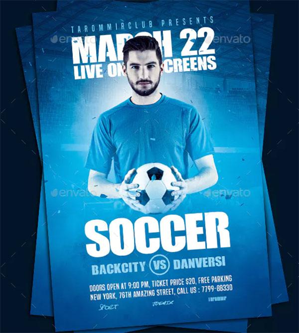 Soccer Sport Flyer