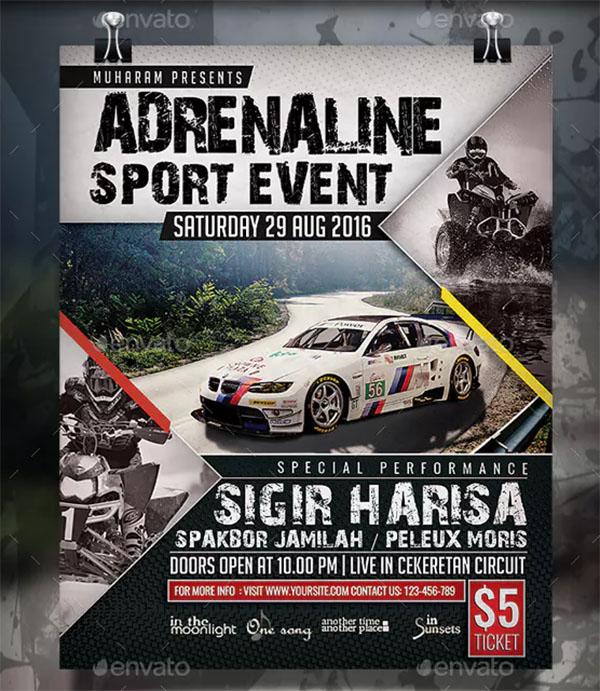Sport Event Flyer and Poster