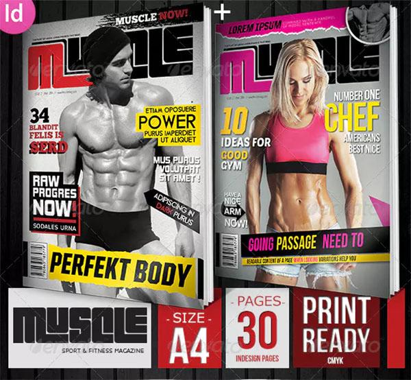 Sport & Fitness Magazine Covers