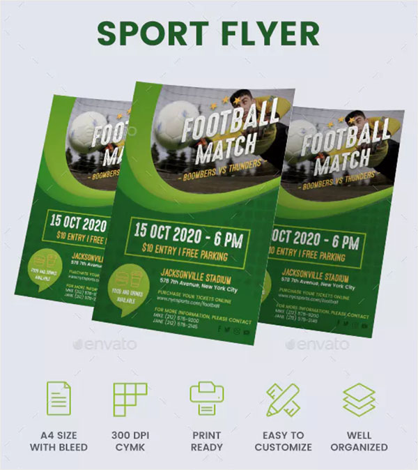Sport Flyer Design