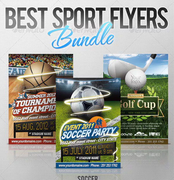 Sport Flyers Bundle
