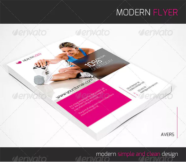 Sports Flyer Design Template
