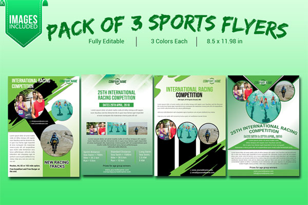 Sports Flyer Pack