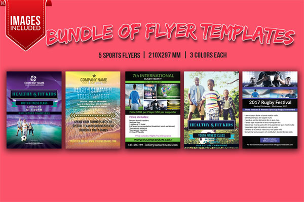 Sports Flyers Bundle