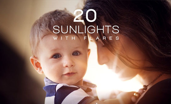 35+ Sun Flare Photoshop Overlays - Free & Premium PSD Downloads