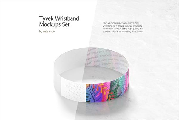 Wristband Mockups Bundle