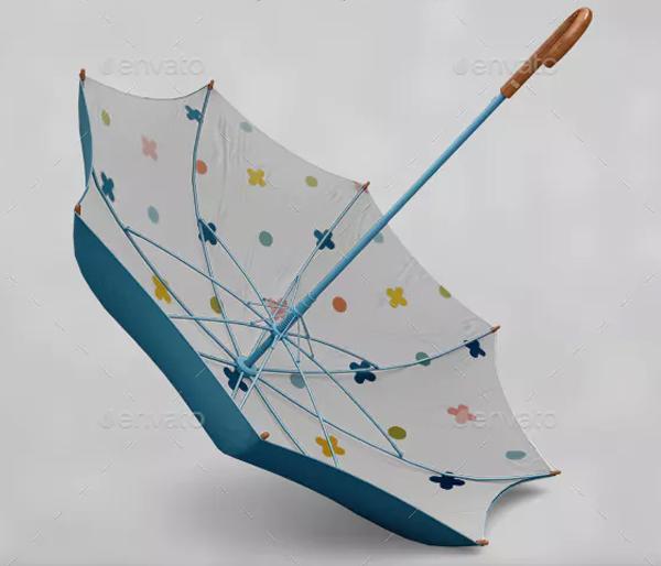 Umbrella Classic Mockups