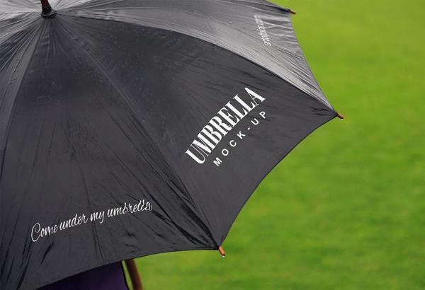 Unique Umbrella Mockup