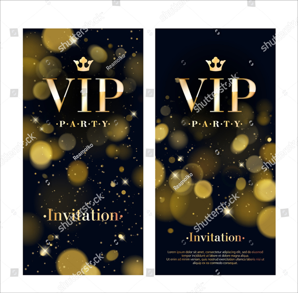 VIP Party Premium Flyer Template