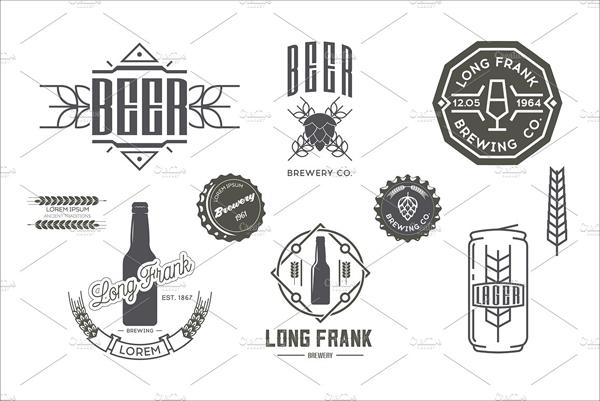 Vector Beer Labels