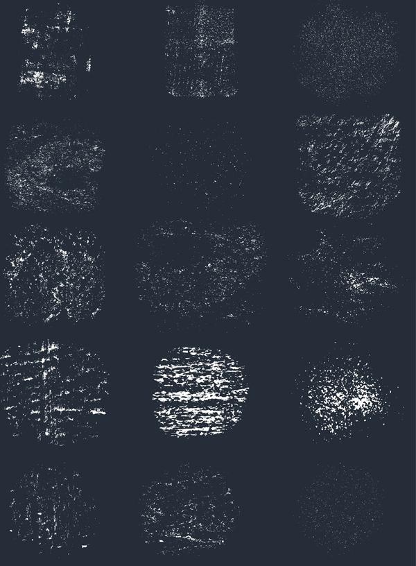 Vector Subtle Grunge Textures