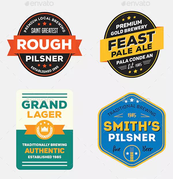 Vintage Beer Label Designs