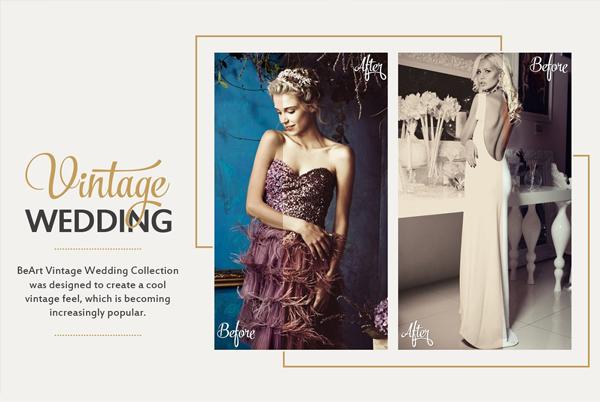 Photoshop Vintage Wedding Actions Bundle