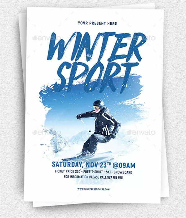 Winter Sport Flyer
