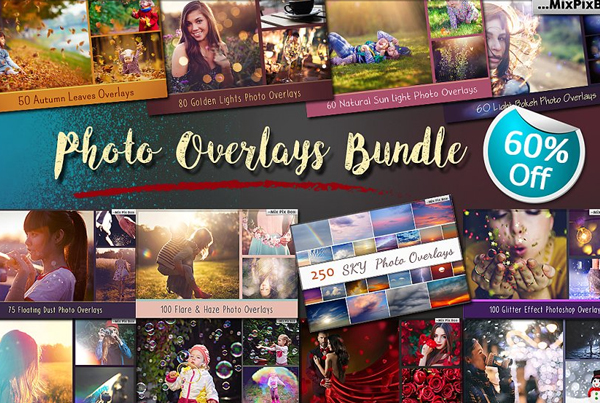 900+ Photoshop Overlays Bundle