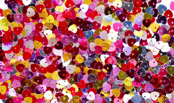 Abstract Colorful Confetti Texture