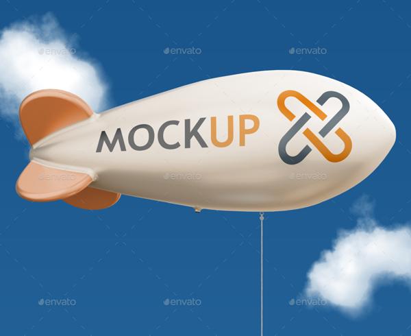 Advertising Balloon Mockups