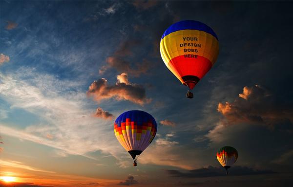 Air Balloon Mock-up Pack