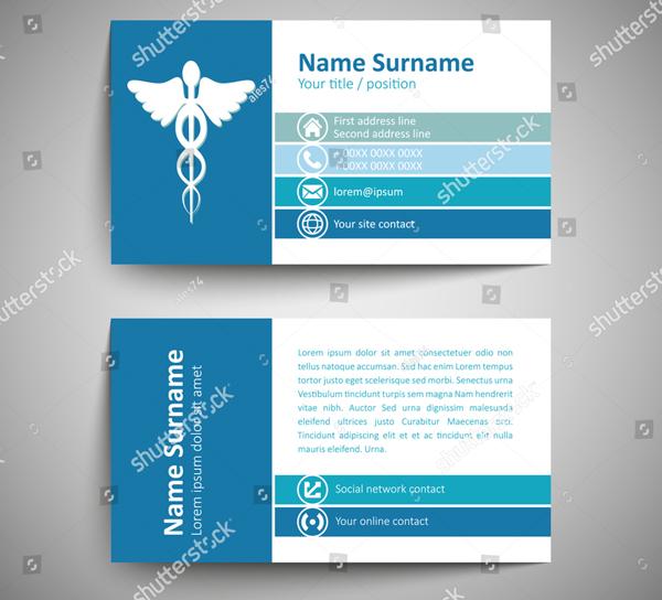 Animal Hospital Business Card