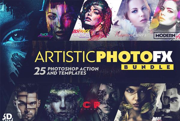 Artistic Photo Actions Bundle