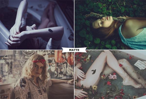 Beautiful Matte Premium Photoshop Actions
