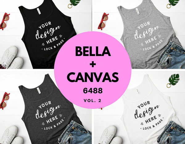 Bella Canvas Tank Top Mockup