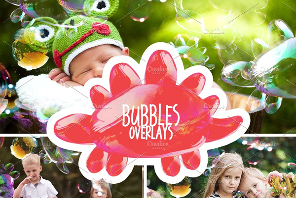 Best Bubbles Photoshop Overlays