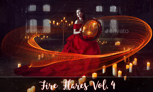 Best Fire Flare PSD Overlays