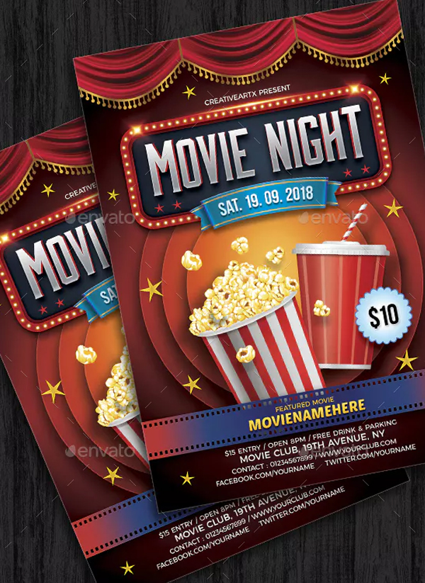 Best Movie Night Flyer