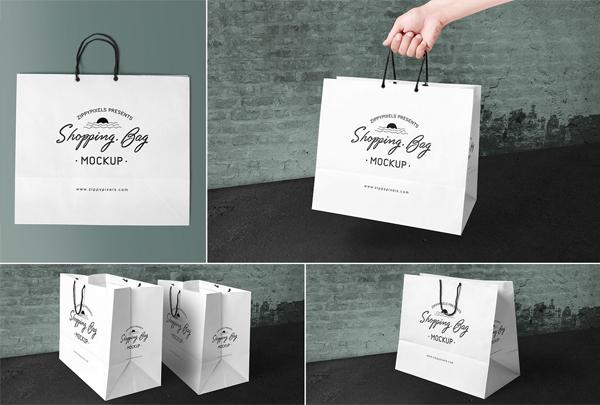Best Shopping Bag Photoshop Mockups