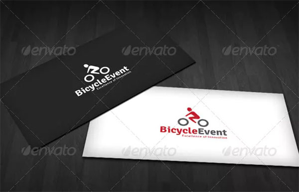 Bicycle Event Logo Template
