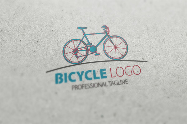Bicycle Logo Template Design