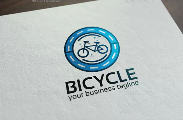 Bicycle Logo Template
