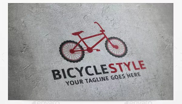 Bicycle Style Logos Templates