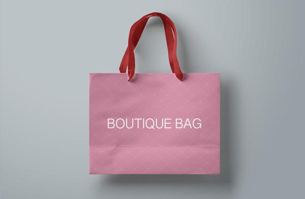 Boutique Shopping Bag Mockup