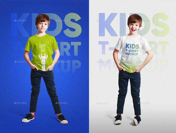 Boy T-Shirt Mockups