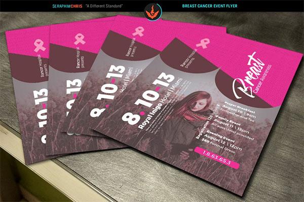 Breast Cancer Awareness Design Flyer